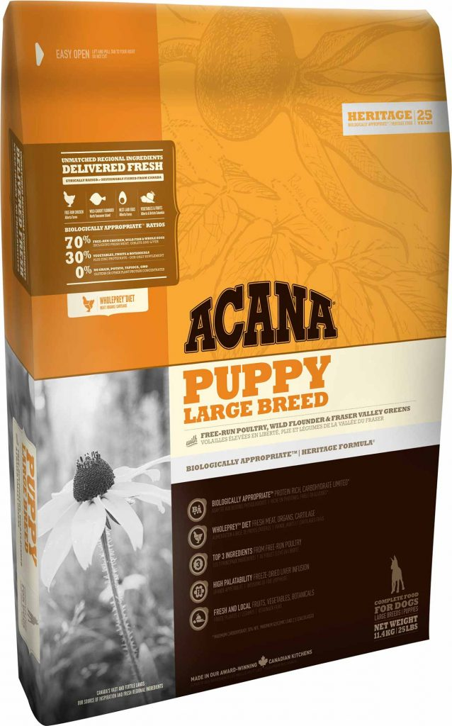 Crocchette per cani senza cereali Acan Puppy Large Breed